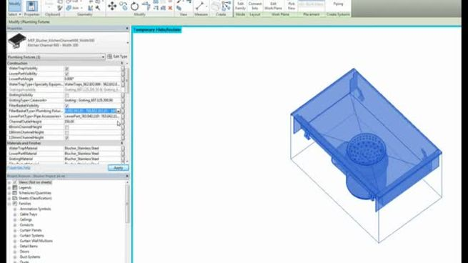 BIM Objects and CAD Drawings | BLÜCHER