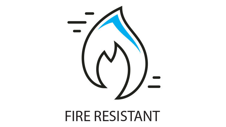 Fire resistent